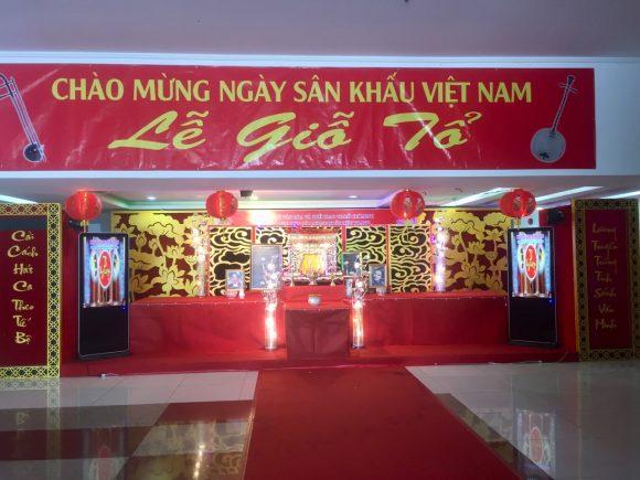 Nhà hát Cải lương Trần Hữu Trang hướng về ngày Giỗ Tổ Sân Khấu Việt Nam